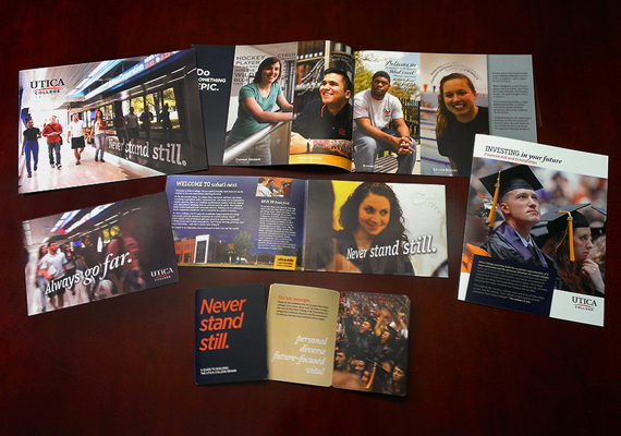 Utica College - Admissions Recruitment & Brand Developement Materials